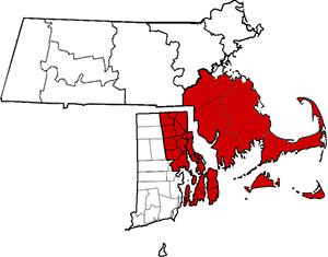 Serving Cape Cod, Southern Massachusetts, parts of Central Massachusetts and Eastern Rhode Island.